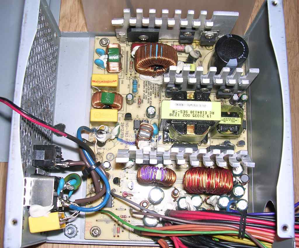 About PC power supply units - MCbx
