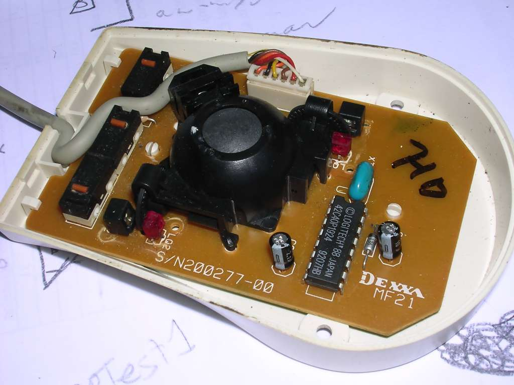 Pc Mice Mcbx Buttons By Soldering Wires To Contacts On The Mouse Circuit Board Manual